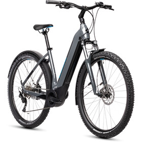 Cube Nuride Hybrid Pro 500 Allroad Easy Entry, grey'n'blue
